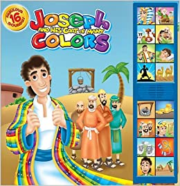 Joseph & His Coat of Many Colors: Deluxe Sound Storybook (Bible ...