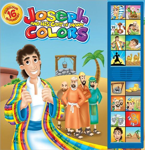 Joseph & His Coat of Many Colors: Deluxe Sound Storybook (Bible Deluxe Sound Storybooks)