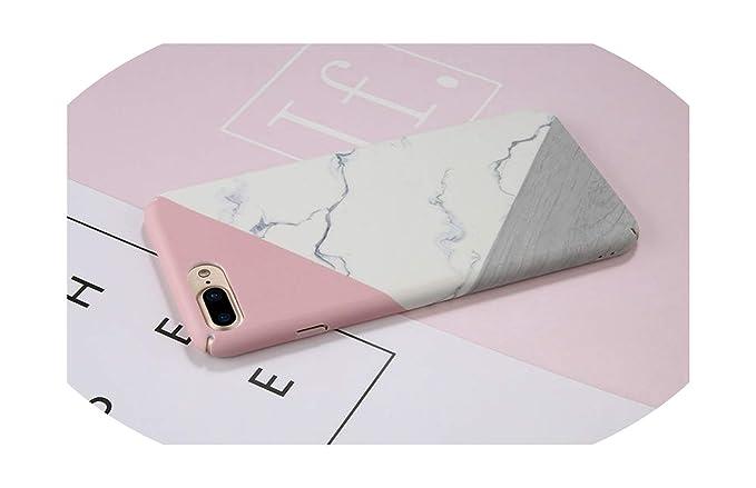 Amazon.com: Funda de mármol para iPhone 7, 7Plus, 8, 6, 6s ...