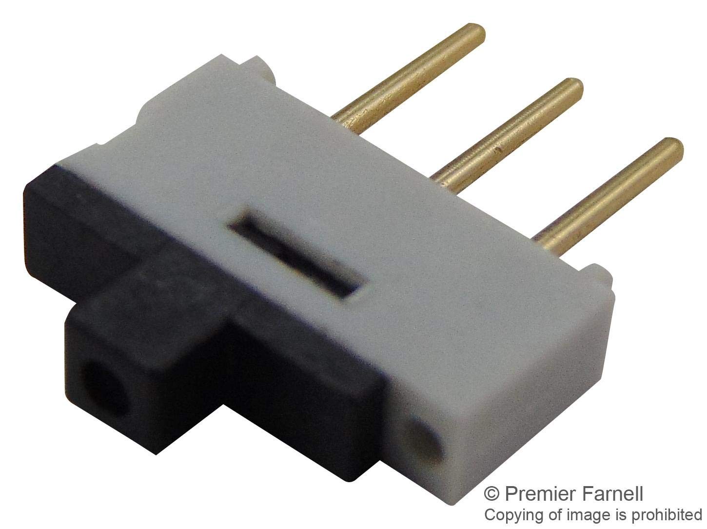 09-03290.01 - Slide Switch, 1K2 Series, SPDT-CO, Vertical, Through Hole, 500 mA RoHS Compliant: Yes (Pack of 20) (09-03290.01) by EOZ