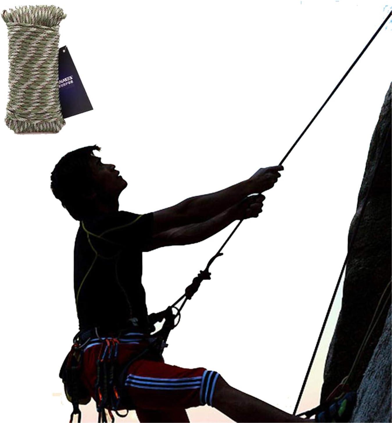 LoveW Rope Cuerda de Escalada para montaña, regulaciones ...