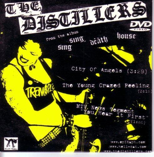 - The Distillers 3 Track Dvd w/ 2 Vidos & MTV News Segment