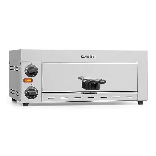 Klarstein Vesuvio Pro horno para pizzas - 1130 W, 1 cámara ...