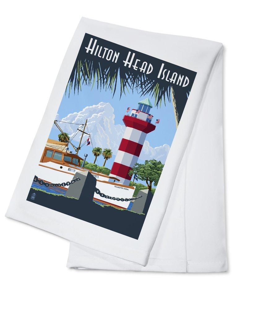 通販 Hilton Head Hilton Island、SC – Harbour Town灯台 12 Sign x Towel 18 Metal Sign LANT-42460-12x18M B0184BJWSM Cotton Towel Cotton Towel, Sparkle:db7c7327 --- mcrisartesanato.com.br
