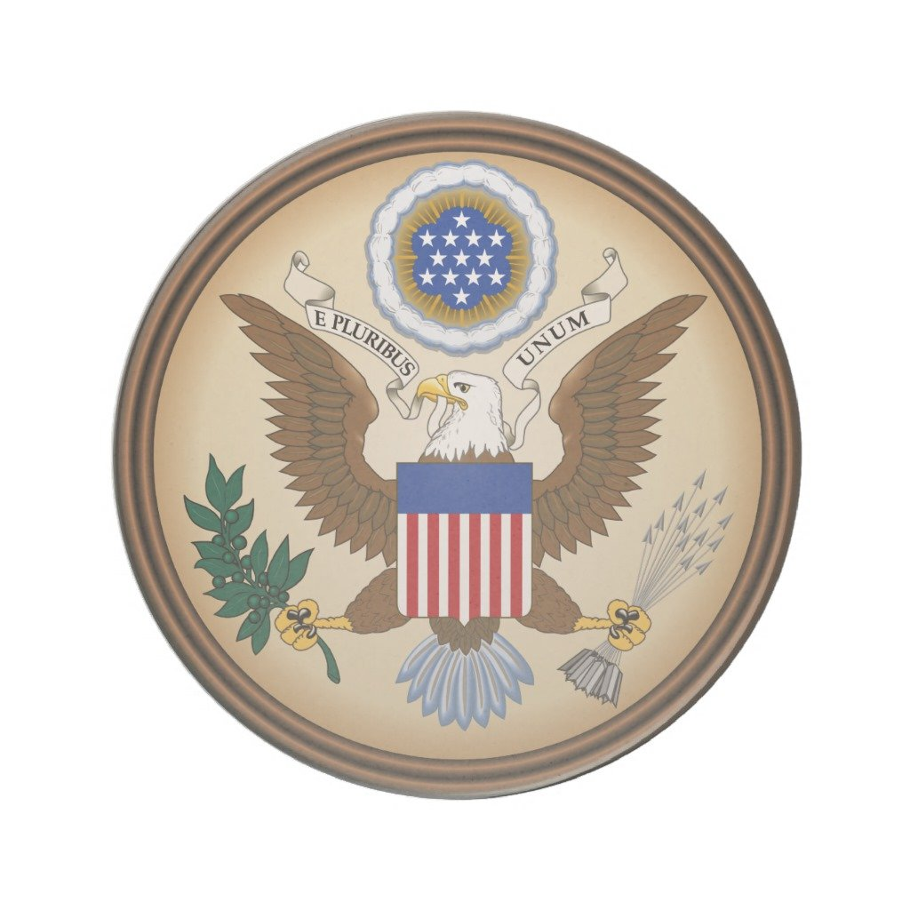Zazzle Great Seal Of the United States Drink Coaster