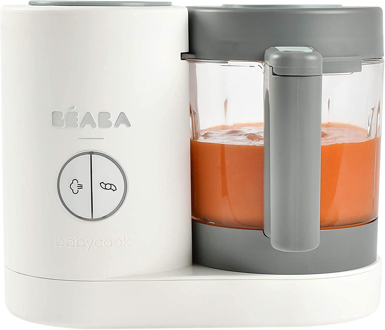 Cottura Rapida a Vapore Dispositivo di Cottura e Vaporiera B/éaba Babycook Solo Robot da Cucina 4-in-1 Frullatore Matcha unAlimentazione Variata per Neonati e Bambini