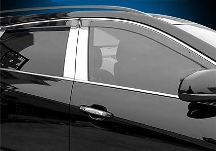 Vesul Updated Side Window Visor Rain Sun Deflectors Guard Vent Shade For  Cadillac SRX 2010 2011 2012 2013 2014 2015 2016