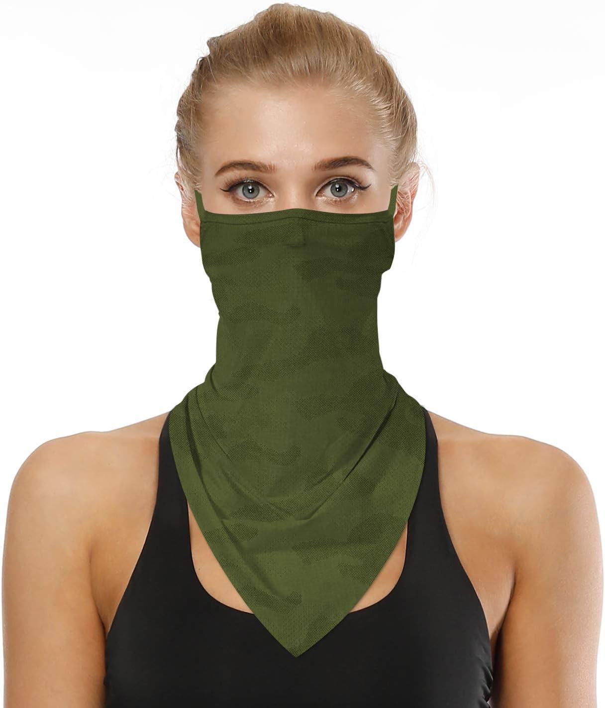 para cuello Timemory triangular bandana para motocicleta Bandana unisex sin costuras bandana para mujer y hombre