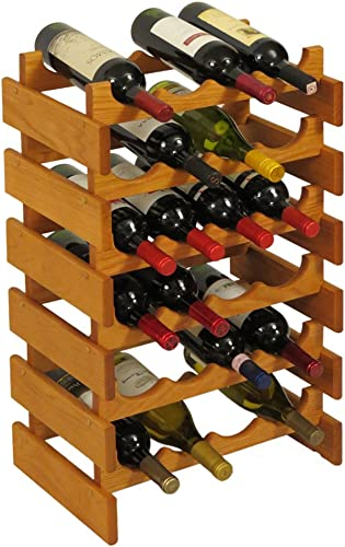 Wooden Mallet 24 Bottle Dakota Wine Rack