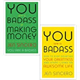 You are a badass jen sincero collection 2 books set (at making money: master the mindset of wealth, how to stop doubting your greatness and start living an awesome life)