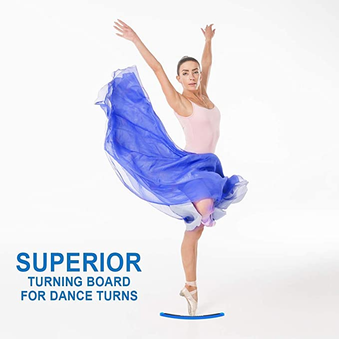 VORCOOL Ballett Tanz Turn Board Trainingsger/ät f/ür Pirouetten Blau