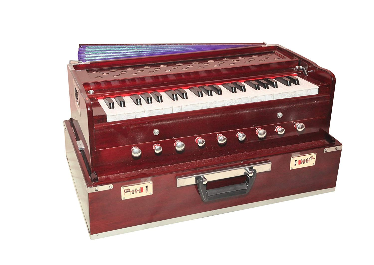 Musicals Wooden Portable Folding 3.5 Octave 9 Stopper