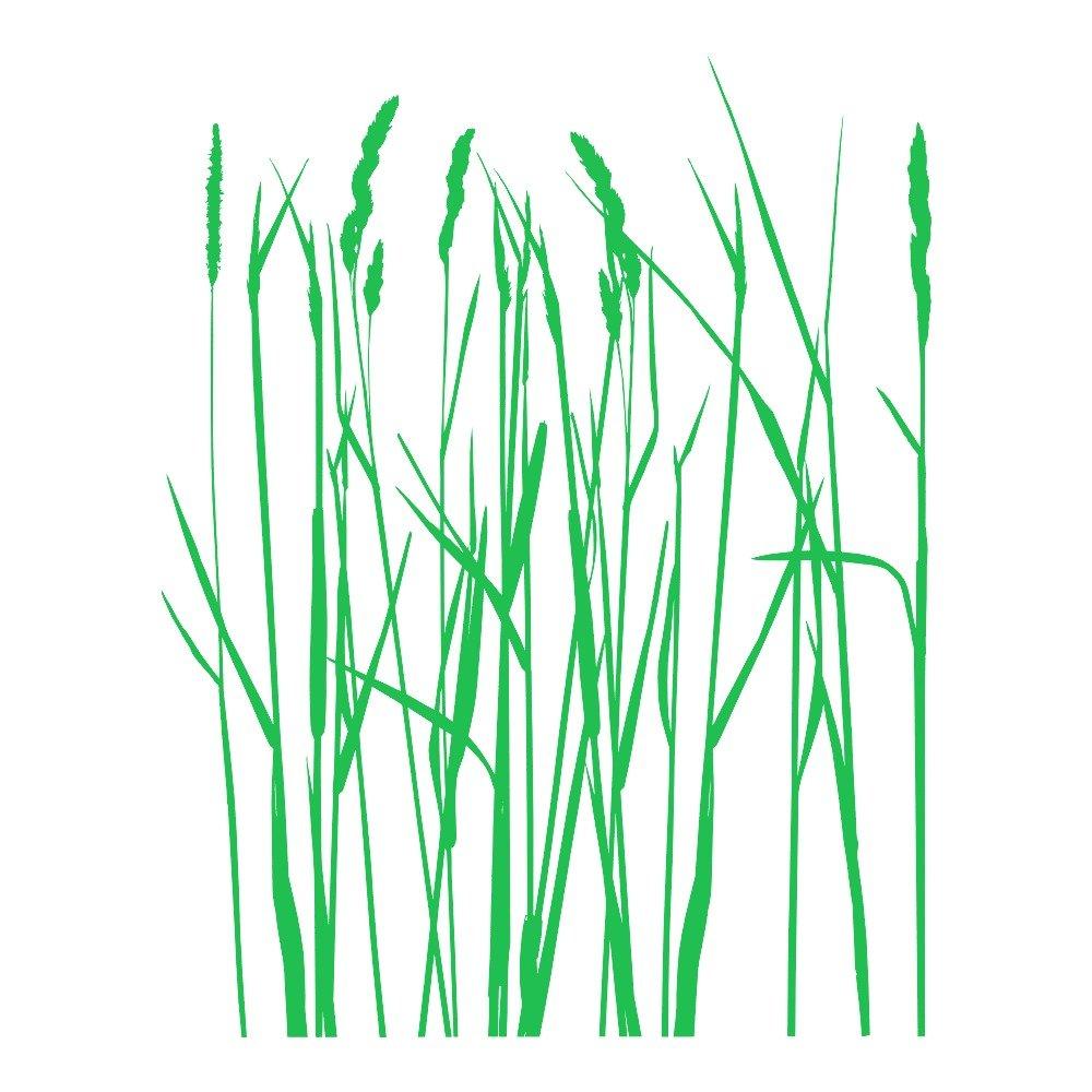 Beeindruckend Wandtattoo Gras Referenz Von Azutura Langes Graß Blumenbäume Wand Sticker Natur