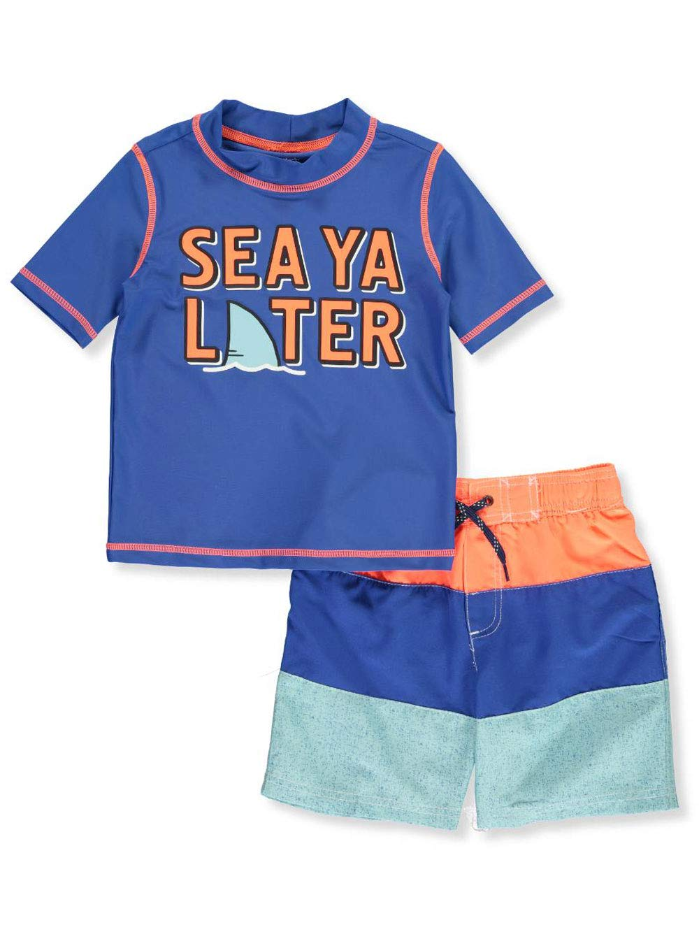 Carter's Toddler Boys' Rashguard Swim Set, See Ya