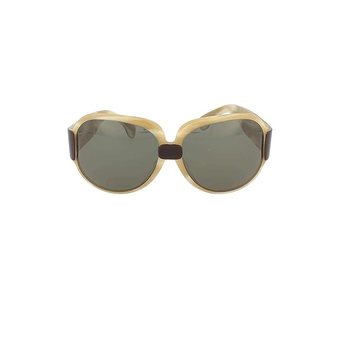 Fendi SUN 484 10530 Gafas de sol Mujer Marron: Amazon.es ...