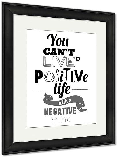 Amazon.com: Ashley Framed Prints Stylish Typographic Poster Design ...