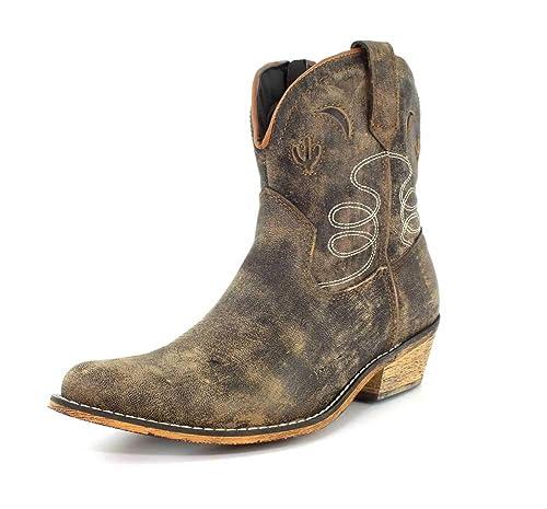 edb0abfd Dingo Adobe Rose - Botas de Piel para Mujer: Amazon.es: Zapatos y  complementos