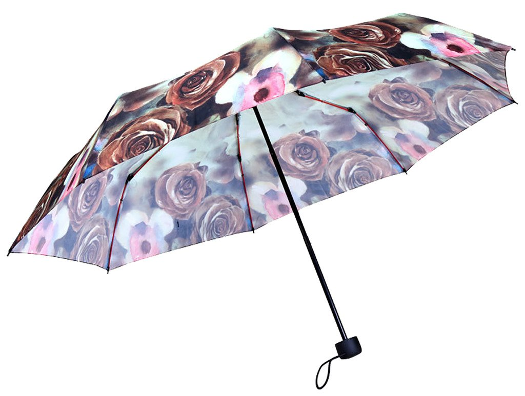 Generic Automatic Folding Umbrella Size 68inch Color Brown