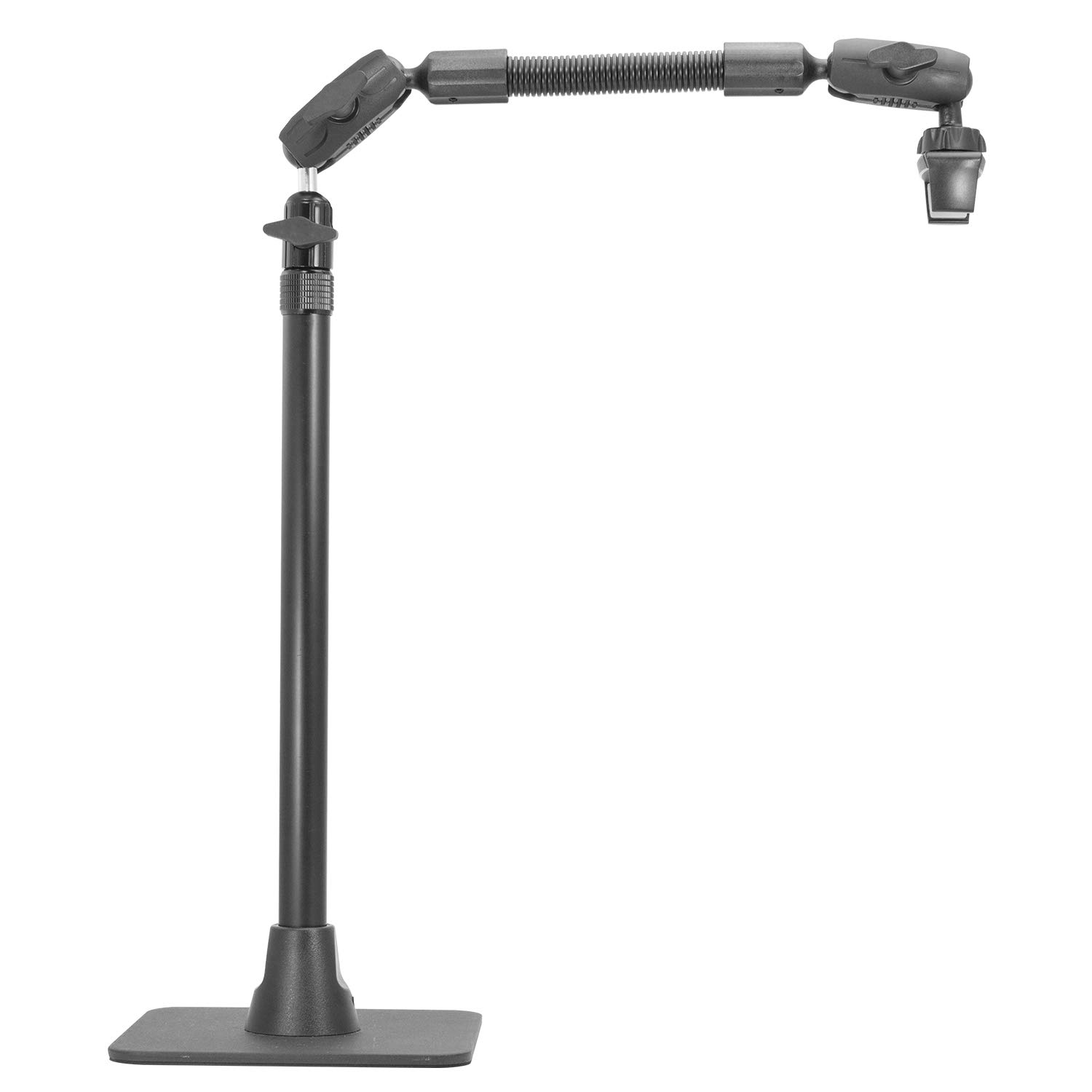 iBOLT Stream-Cast Stand Adjustable Overhead Phone Mount for Live Streaming Tutorial Videos and Photos. Great for Crafters, Bakers, Artists- iPhone Xs, Samsung Galaxy S9, Note 9 Etc.