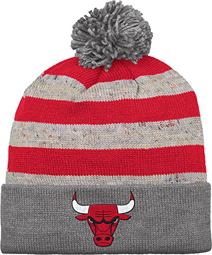 17097b9cd1521f Amazon.com : NBA Mitchell & Ness Speckled Oatmeal Knit Hat (One Size ...
