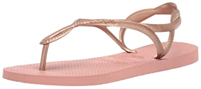 1efff4c16 Amazon.com   Havaianas Women's Luna Around Ankle Straps Roman Flip ...