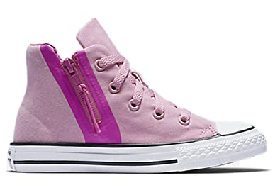 fab1b0bdc910 Converse Chuck Taylor All Star Sport Zip Hi Top Light Orchid Hyper Magenta  10.5 Little