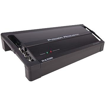 Power Acoustik RZ1 – 3500d 3500 W clase D Monoblock – Amplificador