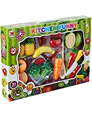 Lima Kitchen Funny Vegetables Set Toy for Kids, 16 Pieces