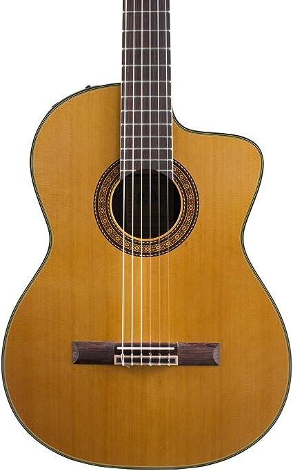 TAKAMINE tc132sc nylon-string guitarra clásica Electroacústica ...