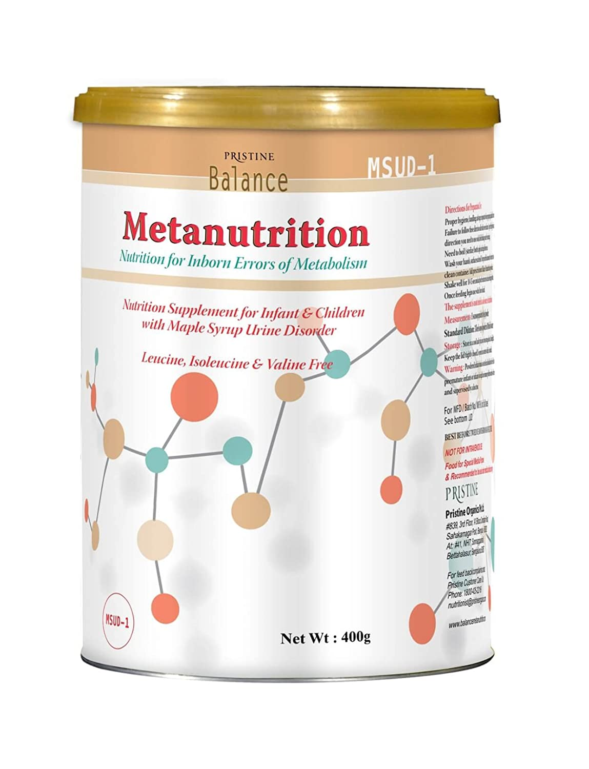 how much does msud diet powder cost