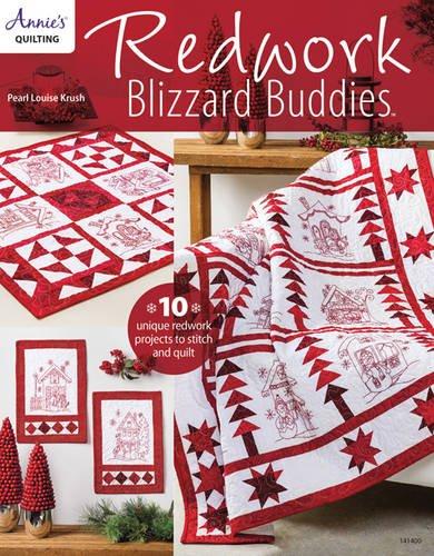Redwork Blizzard Buddies Annie#039s Quilting