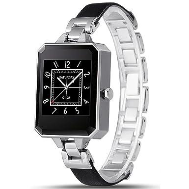 Lemfo lem2 Bluetooth SmartWatch Fashion mujer reloj pulsómetro Mtk2502 C APK para Apple iOS Android Teléfono