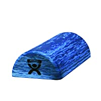 CanDo Blue Marble High Density EVA Foam Roller for Muscle Restoration, Massage Therapy...