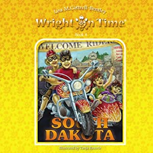 Wright on Time, Book 4: South Dakota Audiobook