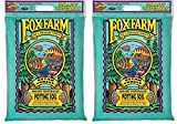 FoxFarm FX14053 12-Quart Ocean Forest Organic Potting Soil TblTFP, 2Pack
