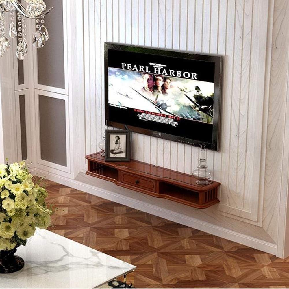 TV Rack Consola para Televisor TV con Mueble de Pared, 80 cm ...