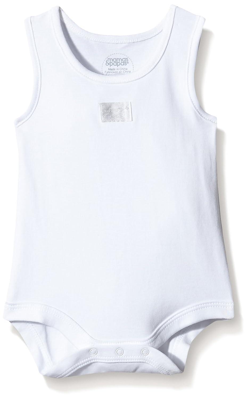 Mamas and Papas Body Bimbo (Pacco da 5) Bianco (White S42AC17) 9 Mesi(Pacco da 5) S42AC17B5