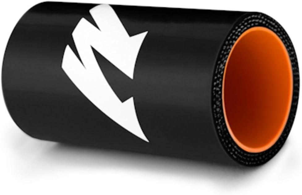 Mishimoto MMCP-25125BK Black 1.25 Straight Coupler