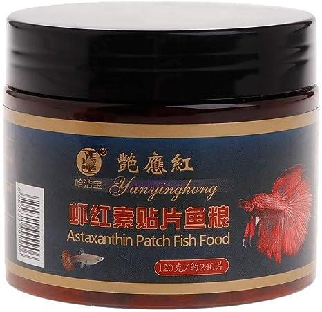 Adorno del Acuario Alimentos for Peces Astacina Astaxantina ...