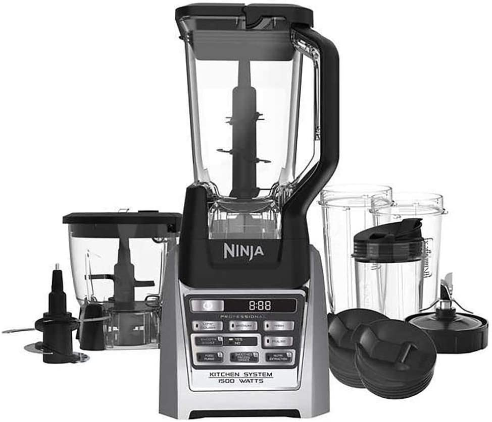 SharkNinja Ninja Auto-iQ Blender, under counter high, stainless