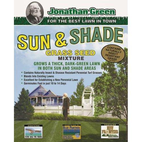 JONATHAN GREEN TURF 12002 2250 sq. ft. Sun And Shade Grass Seed, 3 lb