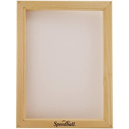c0c84a31 Amazon.com: Speedball 10 Monofilament Screen Printing Frame,  10-Inch-by-14-Inch: Arts, Crafts & Sewing