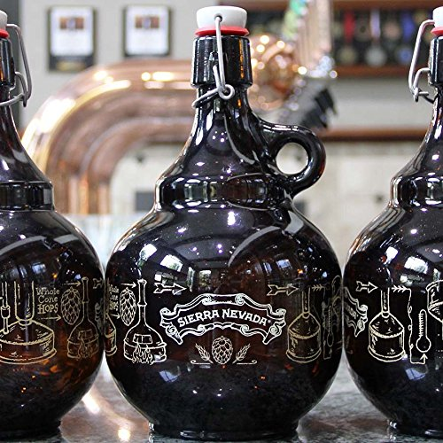 (Sierra Nevada Brewing Company - Two Liter Swing-top Growler)