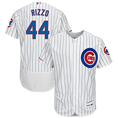 promo code d540f 9d749 VF LSG #44 Anthony Rizzo Chicago Cubs Home Flex Base Collection Player  Jersey - White/Royal