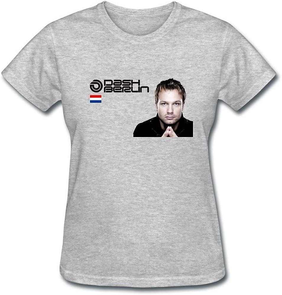 ZHENGXING Women's Dash Berlin Logo Short Sleeve T-Shirt XXL ColorName