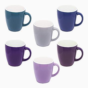 Dickwandig Kaffee Farben 6er Mokka Keramik Tollen Set Esto24 In Espresso Tassen 160ml Bunt bf6gIY7yv
