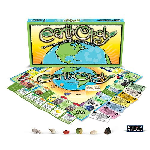 Earth-opoly Game by Late for the Sky
