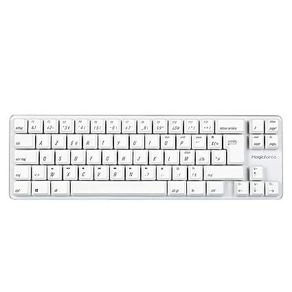 8748a8df1fe Qisan Mini Wired 69 Keys(60%) Mechanical Gaming Keyboard Gateron Blue  Switch PBT