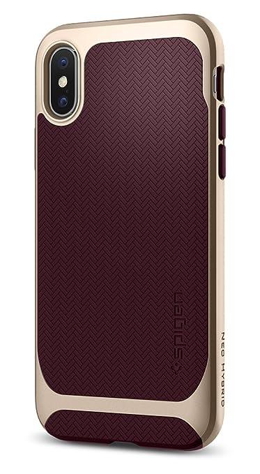 17 opinioni per Cover iPhone X, Spigen [Neo Hybrid] Custodia iPhone X con protezione flessibile