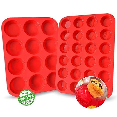 Amazon.com: Walfos - Moldes de silicona reutilizables para ...